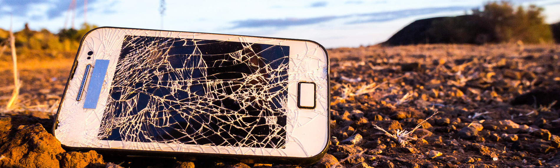Kelowna Cell Repair Directory - smashed cell phone